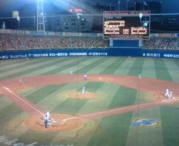 久しぶりの横浜スタジアム